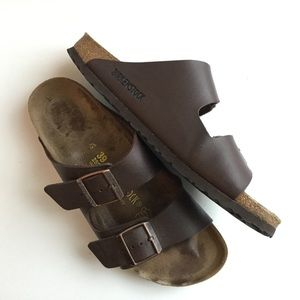 Birkenstock Arizona Sandals Habana Brown Size 39